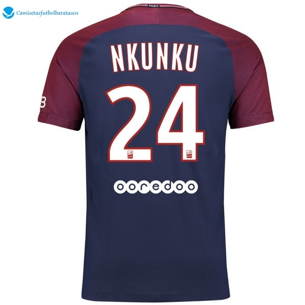 Camiseta Paris Saint Germain Primera Nkunku 2017/2018
